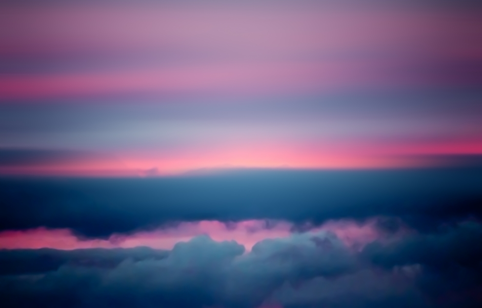 Pink Sunset Meditation